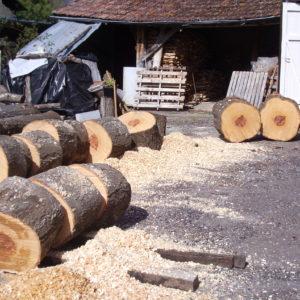 bois morceaux
