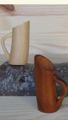 pot en bois appelé lérou